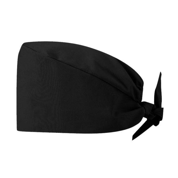 Calot médical/de bloc -Taille unique- Noir